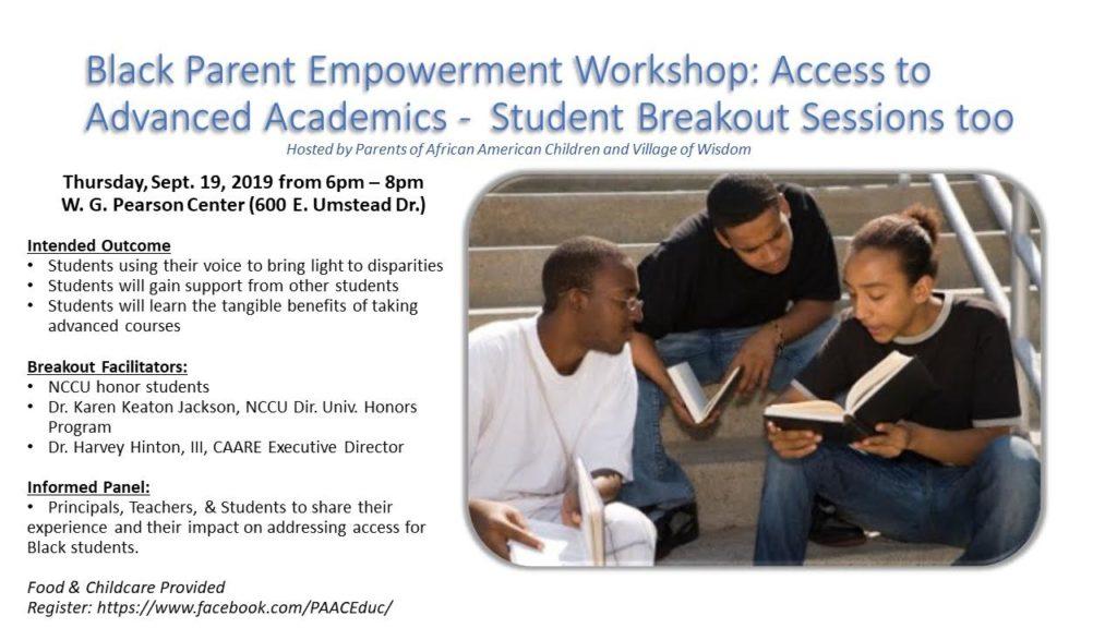 Black Parent Empowerment Workshop