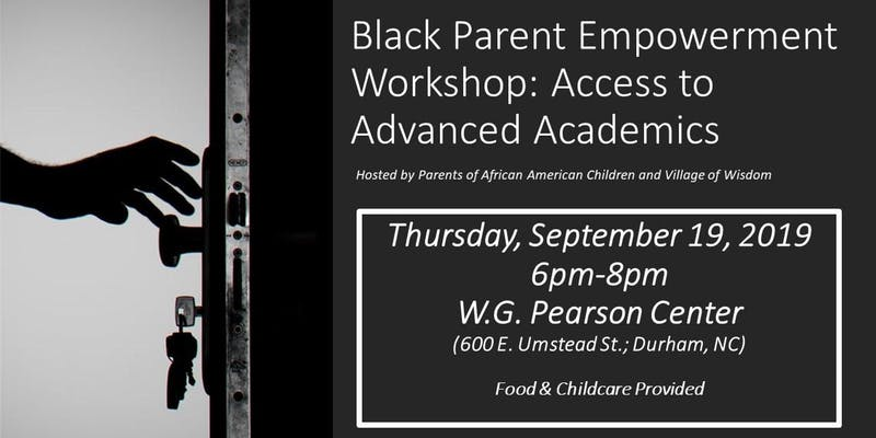 Black Parent Empowerment Workshop